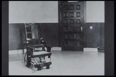 SING SING PRISON ELECTRIC CHAIR - Archive Holdings Inc./ The Image Bank/ Getty Images