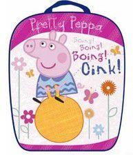 Τσάντα σχολική κλασσική Pretty Peppa