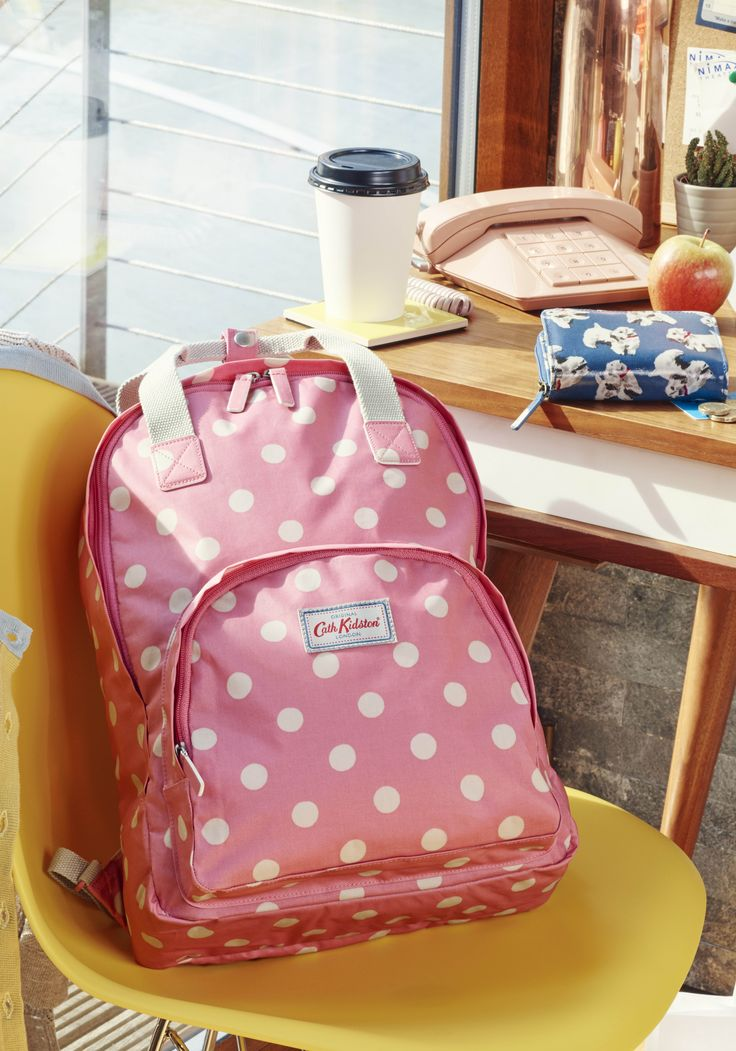 Notebooks, text books, more books, pencil case, gym kit: the list goes on! | Cath Kidston Autumn Winter 2016 |