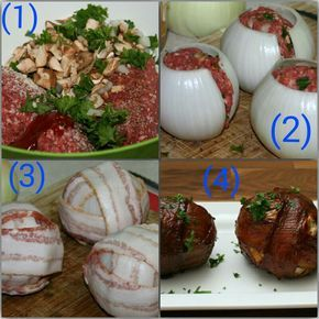 Barbecue Bacon Wrapped Meatballs