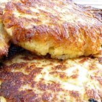 Cauliflower Latkes Pancakes Recipe - Healthy Hanukkah Recipes - Vegetable Latkas - Cauliflower Pancakes for Chanukah
