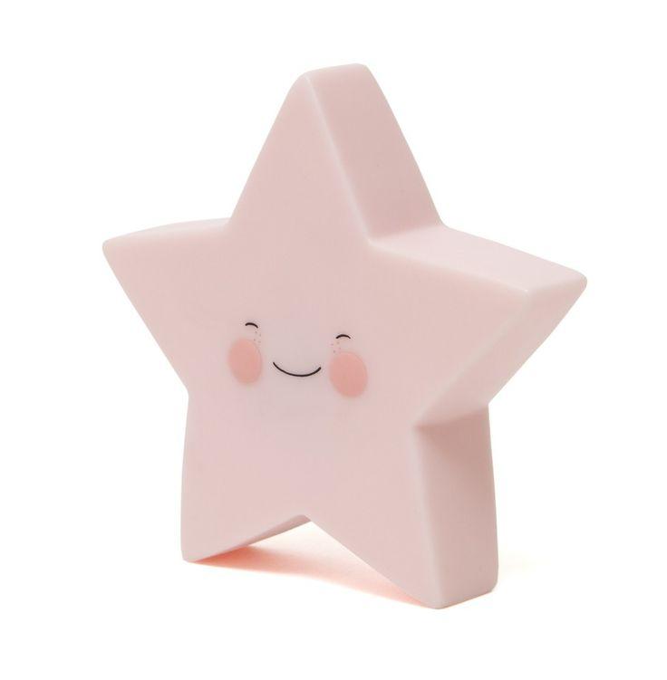 Een nachtlampje in de vorm van een ster, ideaal voor op de kinderkamer! Ontwerp van Eef Lillemor voor Psikhouvanjou!