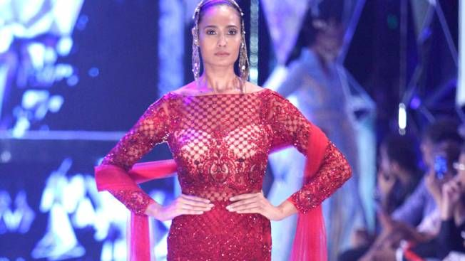 The grand finale at Amazon India Fashion Week spring/summer 2018