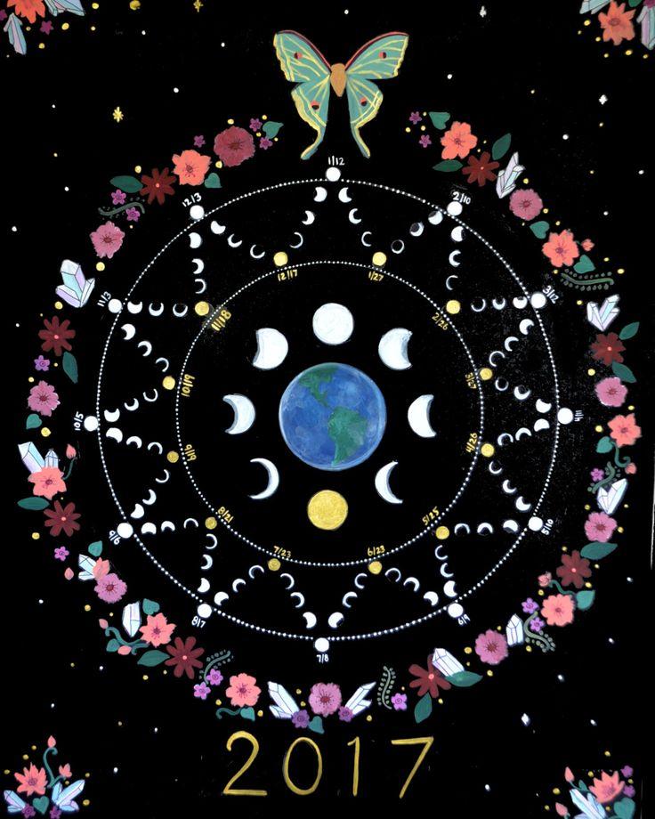 2017 Lunar Calendar Poster