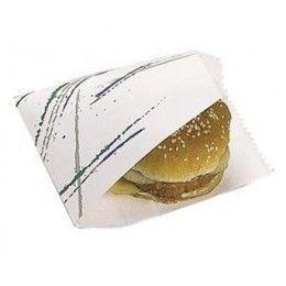 Bolsas fabricadas en papel antigrasa ideales para hamburguesas o kebab. La apertura por los dos lados facilita el acceso al contenido a la hora de comerlo. http://www.ilvo.es/es/product/bolsa-antigrasa-abierta-2-lados---16-x-165-cm