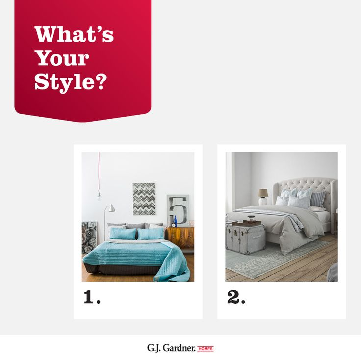 What's your bedroom style? Bright and bold or neutral and calming?