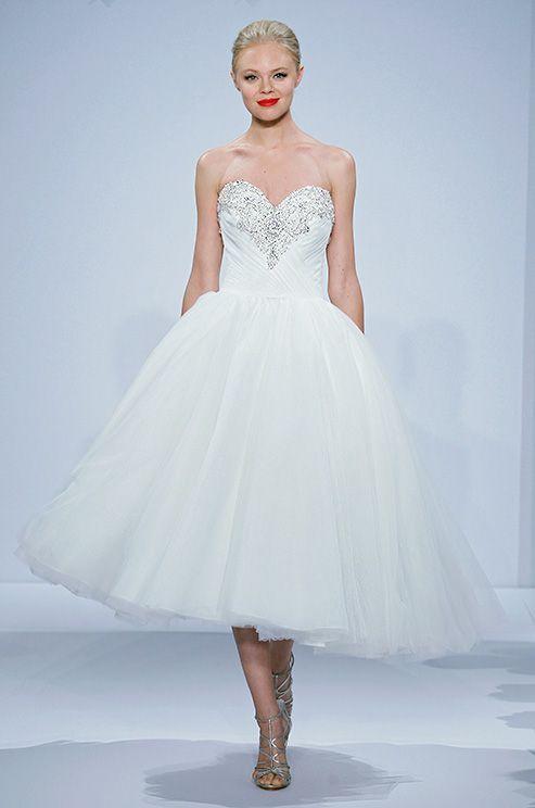 237 best Short Wedding Dresses images on Pinterest | Wedding frocks ...