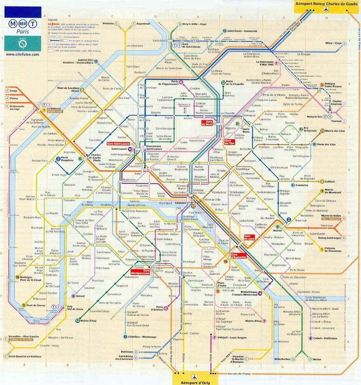 The 25 Best Paris Metro Ideas On Pinterest 2013 Turismo: Paris Metro Train Map At Infoasik.co