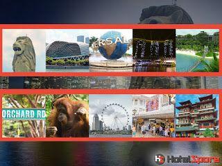 Daftar lengkap tempat wsiata di Singapore (total ada 40). Beberapa diantaranya adalah Esplanade, Marina Bay Sands, Merlion Park, Universal Studios, Singapore River, Orchard Road, Bugis Street, Chinatown, Singapore Flyer dan sebagainya.