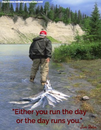 """Who runs your day?  - """"Either you run the day or the day runs you."""" -Jim Rohn"""