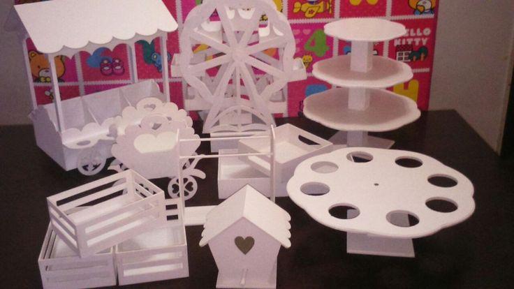 Candy Bar Estructuras Decorativas Alquiler - Hurlingham - $ 450,00 en MercadoLibre