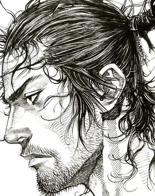 http://mercidez.tumblr.com/post/48216418821/vagabond-manga-by-takehiko-inoue