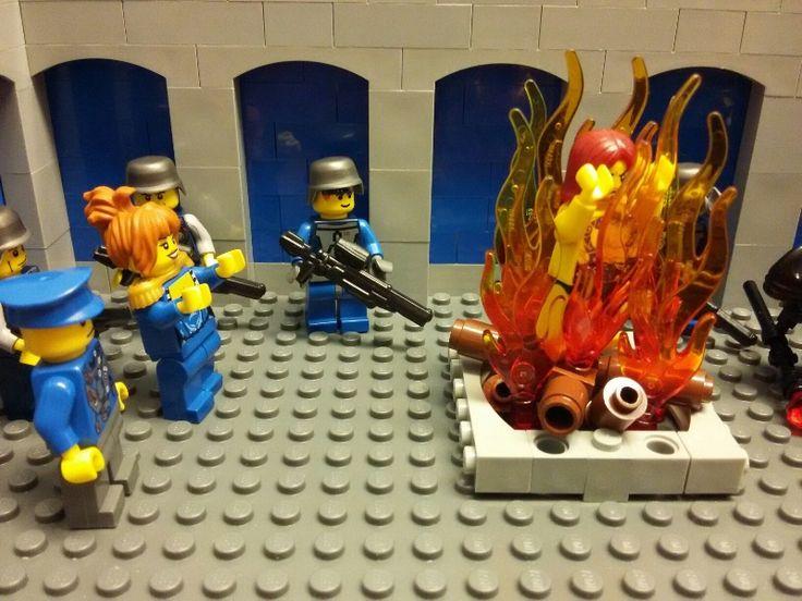 Magic Soap Opera Board: Through the fire [Brikthulhu War - Ep.2], by Kaplan