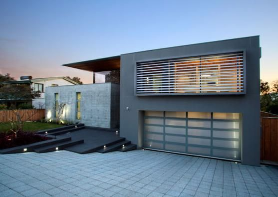 Garage Design Ideas by Tallwood Constructions  like whole front of house