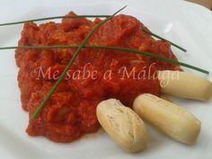 Me sabe a Málaga: Magro con tomate