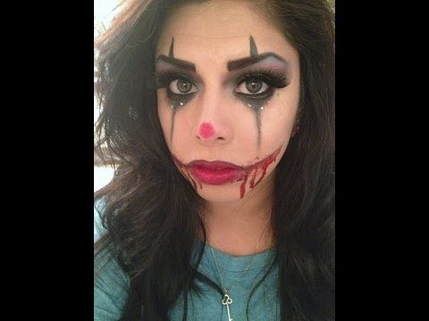 scary halloween makeup scary clown doll makeup halloween makeup - Easy But Scary Halloween Makeup