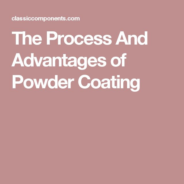 The Process And Advantages of Powder Coating
