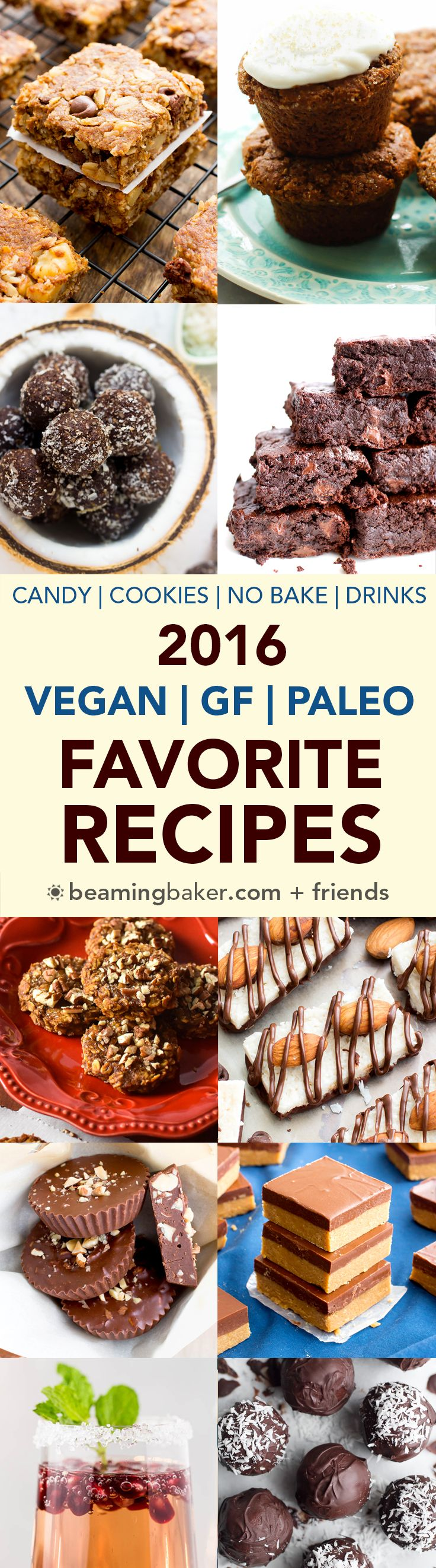 A collection of my favorite recipes, featuring gluten free, paleo, vegan and dairy-free treats from Beaming Baker and around the web.