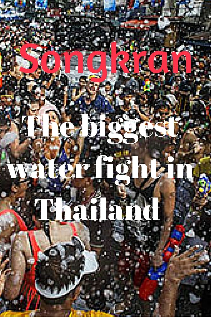 The biggest water fight ever is #Songkran #Thailand | Paula McInerney | contentedtraveller.com