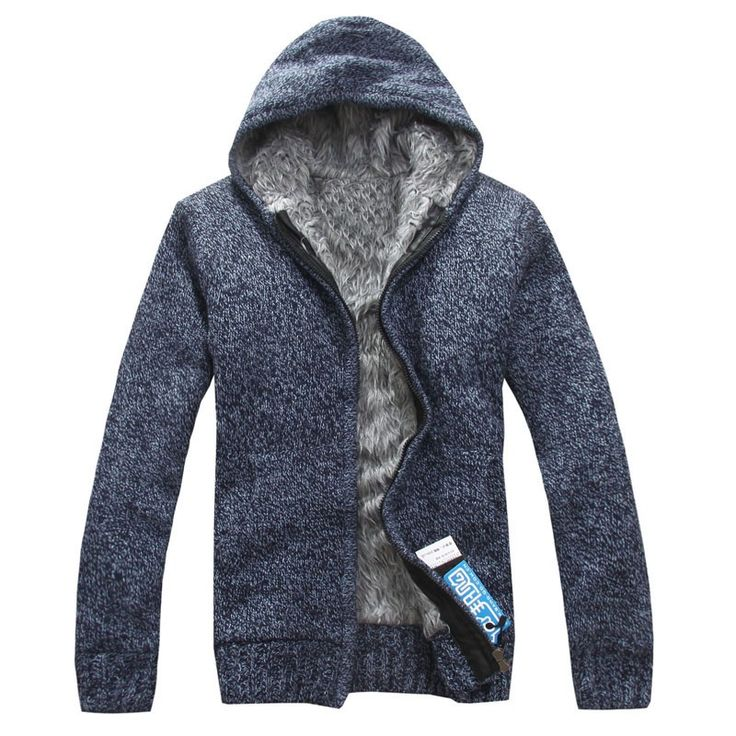 >> Click to Buy << Men's Winter Sweater 2017 New Fashion Spring Autumn Thick Hooded Sweaters Cardigan Clothing Blusas Masculinas #Affiliate