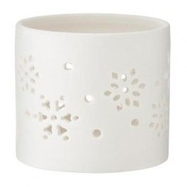 Part of our Festive Frost Christmas theme, these mosaic tea light holders will be some light to your co-ordinated festive home.