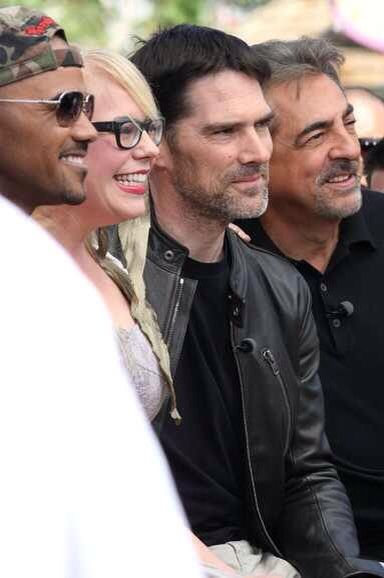 Criminal Minds.. I adore this cast of actors and the characters they portray.  That's good TV.