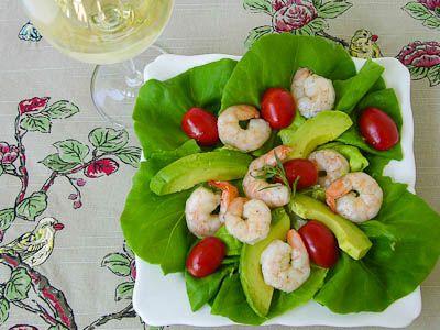 ... Salads - Shrimp on Pinterest | Red peppers, Grilled shrimp and Shrimp