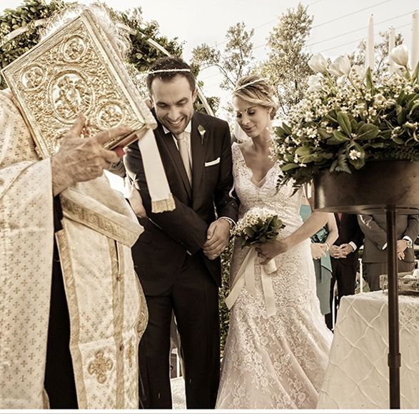 Chic καλοκαιρινός γάμος | Καρολίνα & Ιάκωβος