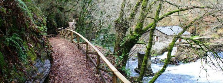 Ruta de las aceas sarria sendero fluvial que recorre for Ruta del mueble sarria