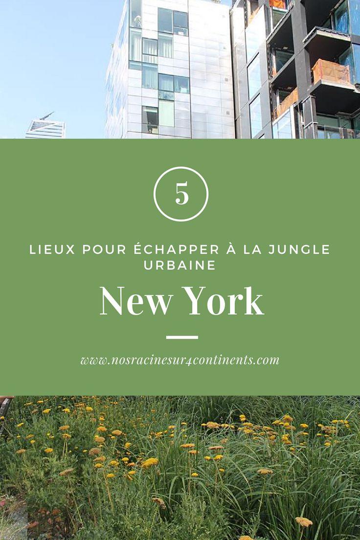 Cinq lieux pour échapper à la jungle urbaine de New York #NYC #NewYork #USA