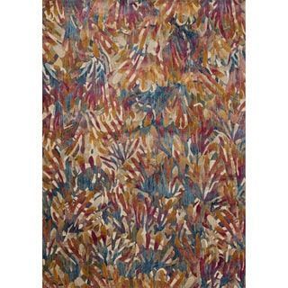 Phaedra Abstract Tropical Rug (9'2 x 13') | Overstock.com Shopping - The Best Deals on 7x9 - 10x14 Rugs