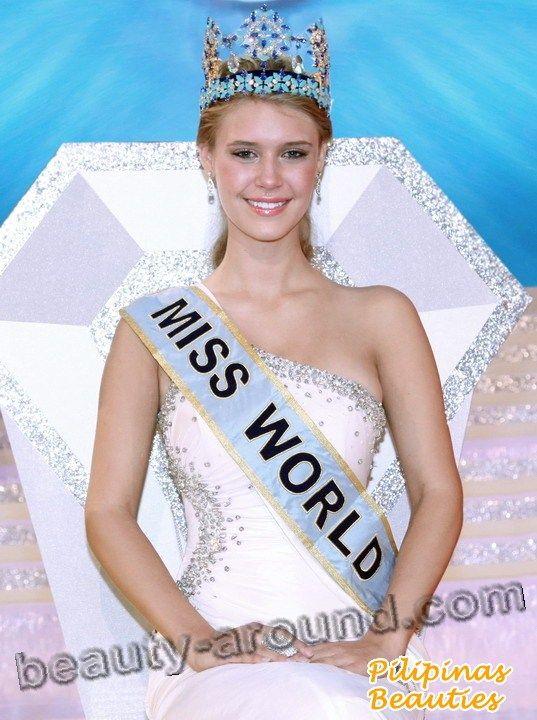 Alexandria Mills winner of Miss World 2010 photo