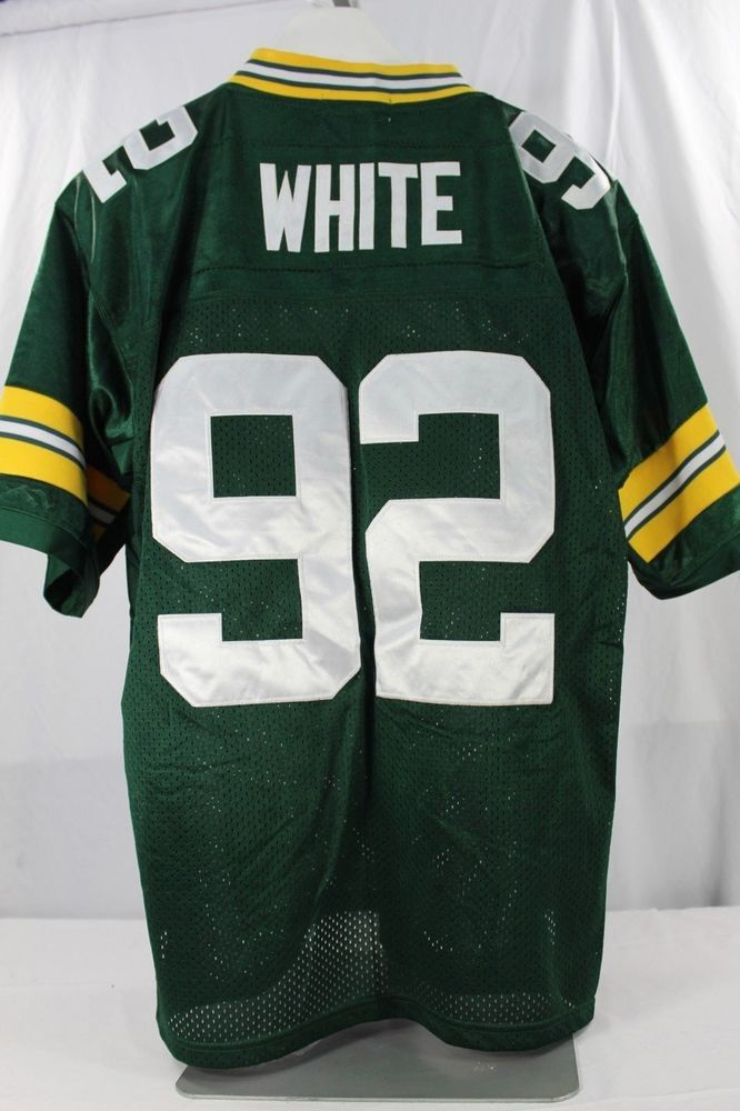 Green Bay Packers Reggie White  92 Green Jersey 1993 Mitchell   Ness 50  Stitched  MitchellNess  GreenBayPackers 9e39ead87