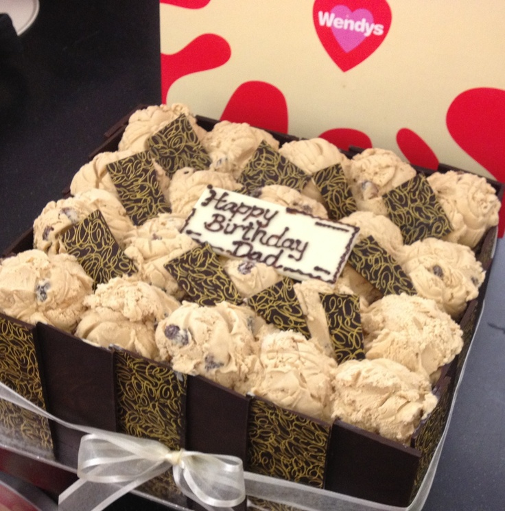 Dad cake. - honeycomb smash base rum n raisin scoops ...