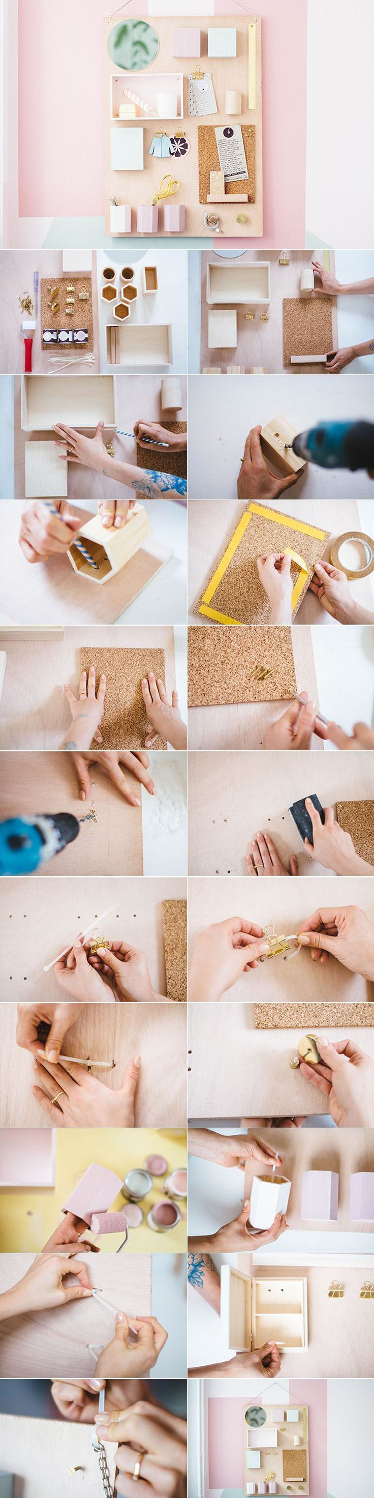 Do it yourself Memoboard selber machen
