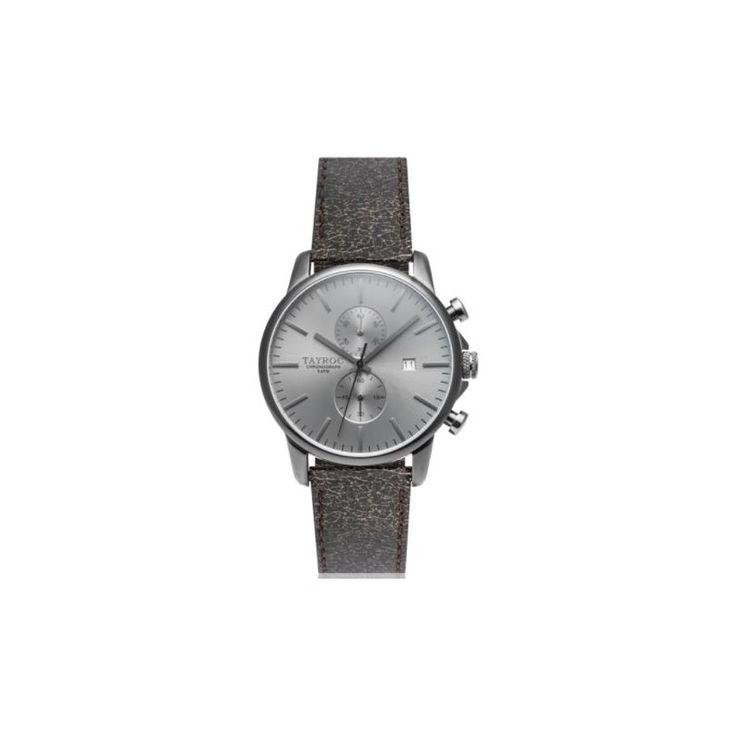 TXM092 de Tayroc es un reloj que ofrece una caja con cronógrafo y la ventana de la fecha. Combina la sencillez y la elegancia, envolviendo su muñeca con correa de cuero.