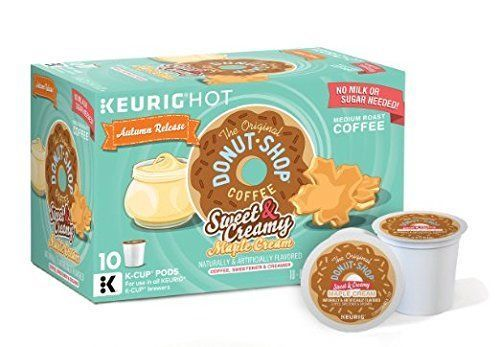 Donut Shop Sweet And Creamy Maple Cream Keurig K Cup