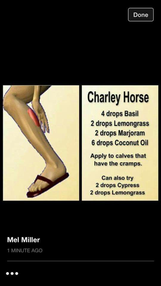 charley horse/ leg cramp | essential oils | pinterest | leg cramps, Skeleton