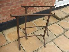 Vintage Industrial Iron Trestles Stands Shabby Chic Table Legs Base Essex  SS6