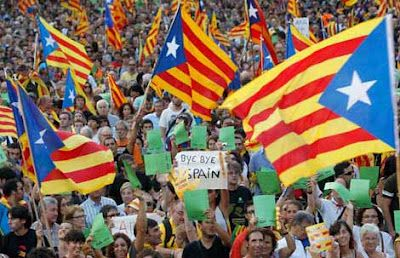 Bye bye Spain! Freedom 4 CATALUNYA. BARCELONA next Europe Capital