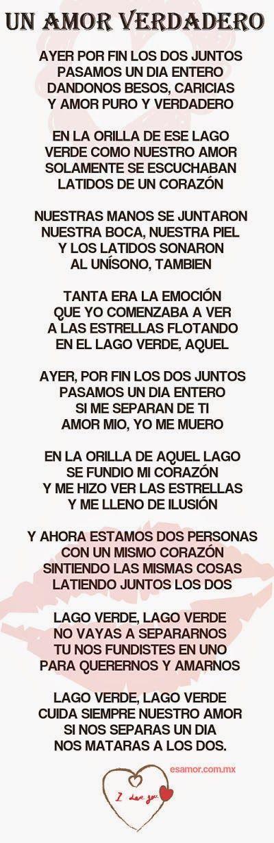 Poemas de amor largos #versosdeamorcortos