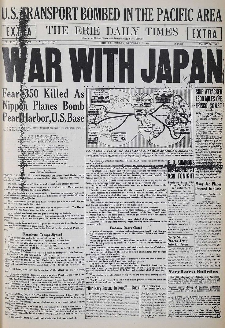 an introduction to the history of the bombing of pearl harbor A summary of japan and pearl harbor in history sparknotes's world war ii ( 1939–1945)  hirohito - japanese emperor approved pearl harbor attack plan.