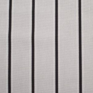Turkish Slate Striped Cotton Canvas