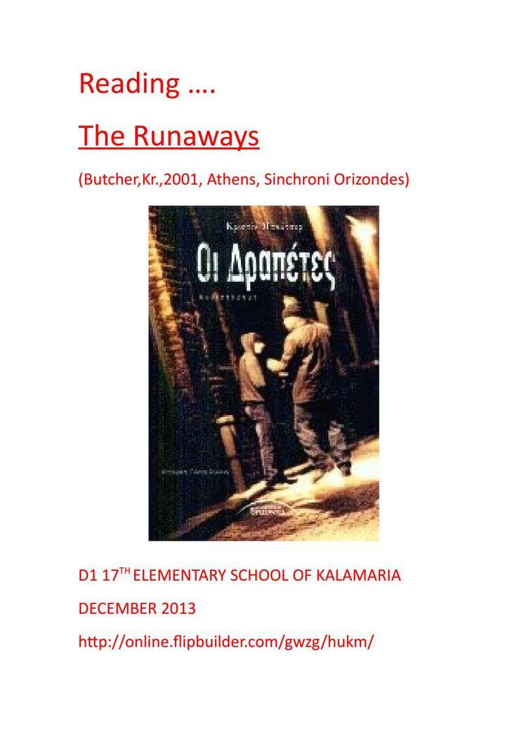 An achievement -Reading The runaways