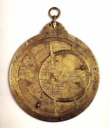 In Ancient Times, sailors had a rigid time sailing the seas. Therefore, to conquer the vast oceans they improved their technological advancements. The Europeans utilized an ancient tool called the astrolabe. The astrolabe was a device used by the Ancient Greeks that measured