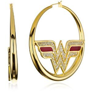 gold #WonderWoman hoops! #Superhero