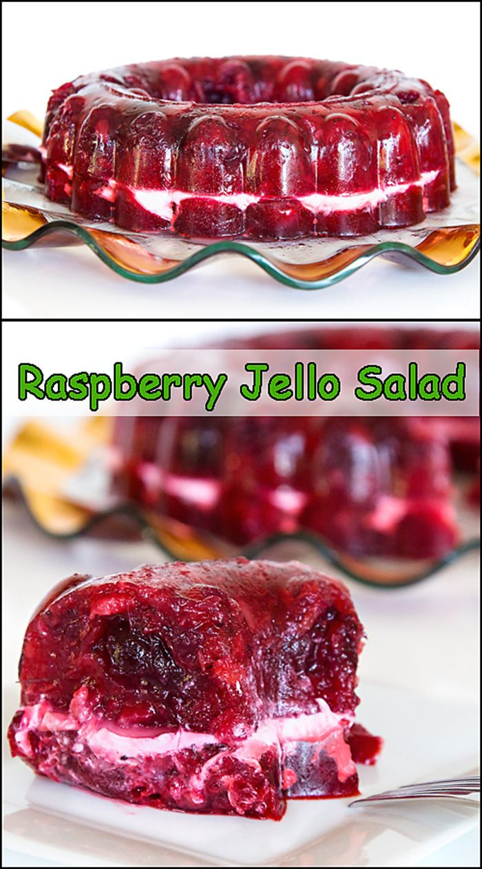 Cran-Raspberry Jello Salad  www.joyineveryseason.com