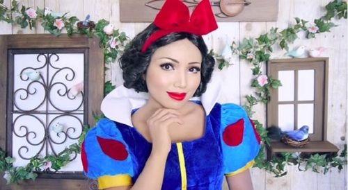 Blanche Neige / Snow White : DIY - maquillage (make up)