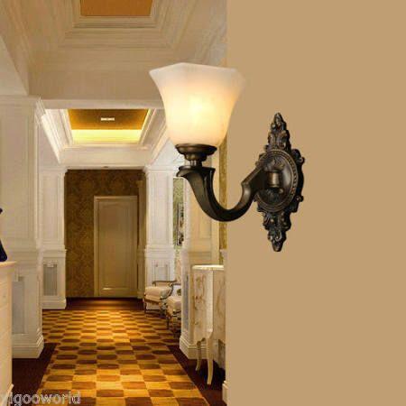 Rustic hall lamp google search