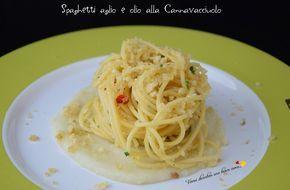 Spaghetti aglio e olio alla Cannavacciuolo